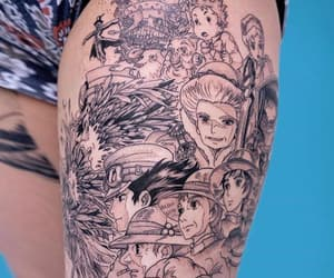anime, art, and body art image