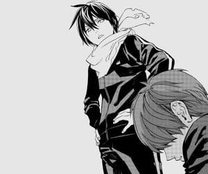 anime, monochrome, and anime boy image