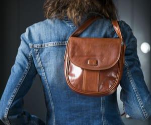 etsy, festival bag, and genuine leather bag image