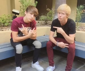 friendship, colby brock, and sam & colby image