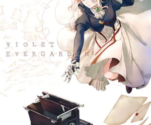 anime, anime girl, and violet evergarden image