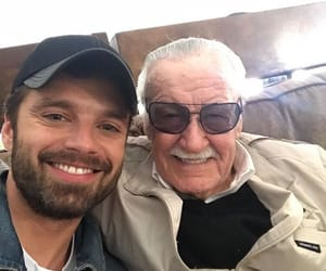 Marvel, stan lee, and sebastian stan image
