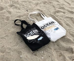 aesthetic, bag, and beach image