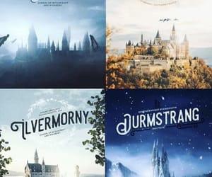 harry potter, hogwarts, and beauxbatons image