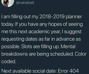 funny and planner image