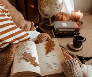 autumn, book, and inspirational image