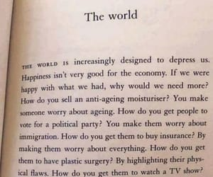 book, depressing, and opinion image
