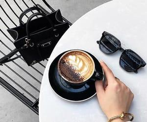 bag, black, and coffee image