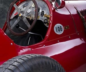 vintage cars, maserati, and race car image