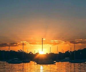 australia, lake, and scenery image