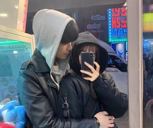 ulzzang, aesthetic, and couple image
