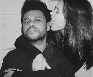 couple, bella hadid, and the weeknd image