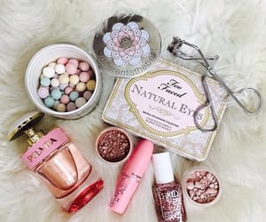 girl, make up, and too faced image