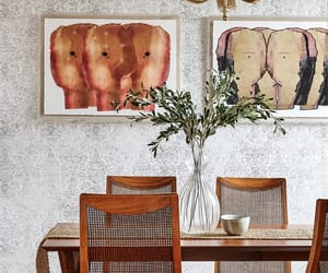eclectic decor, brooklyn home tour, and new york home tour image