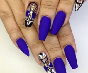 Got them smooth nails. Purple is very nice color