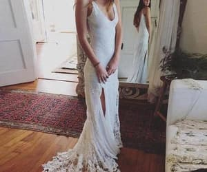 lace wedding dresses, sexy wedding dresses, and wedding dresses backless image