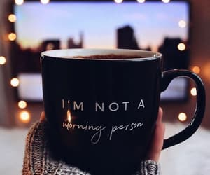 coffee, black, and winter image