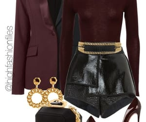classy, fashion, and leather image