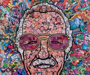 stan lee, comic, and Marvel image