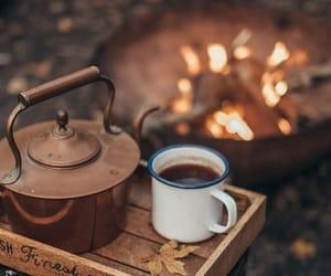 autumn, coffee, and tea image