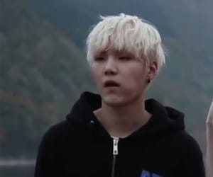 blonde, agust d, and suga image
