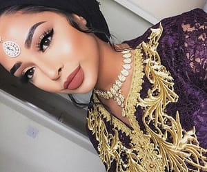 beauty, eyeshadow, and faces image