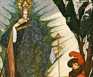 fairy tale, harry clarke, and hans christian andersen image