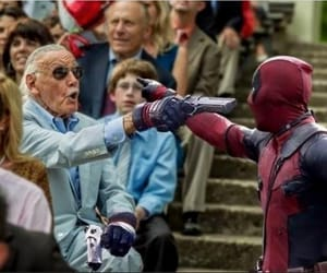 deadpool, stan lee, and Marvel image