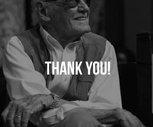 Marvel, thankyou, and stanlee image