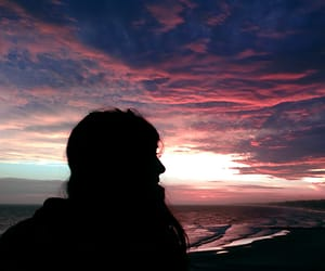 amazing, atardecer, and azul image