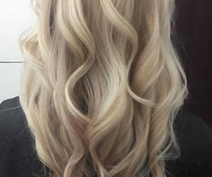 autumn, blond hair, and curly hair image