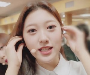 asian, korean, and odd eye circle image