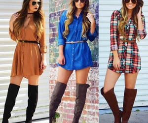 blouse, boots, and style image