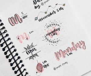 inspiration, journaling, and lettering image