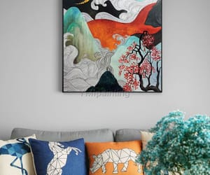 Abstract Painting, etsy, and home decor image