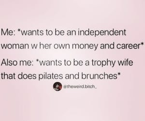 funny, independent, and married image