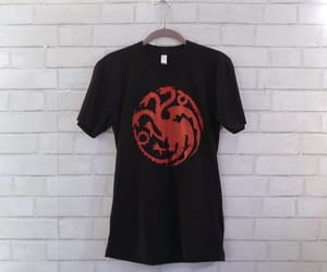 dragon, etsy, and game of thrones image