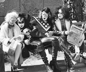 kiss, 1974, and Central Park image