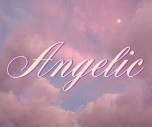 pink, aesthetic, and angelic image