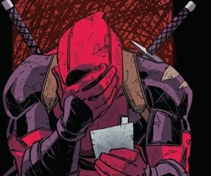 comics, deadpool, and cry image