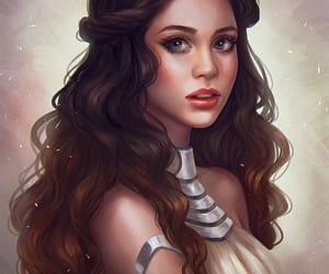 art, fantasy art, and fantasy drawing image