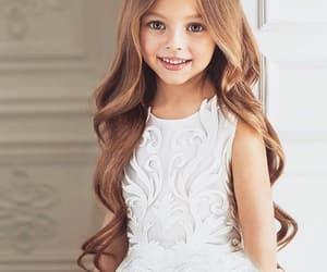 adorable, baby, and girl image