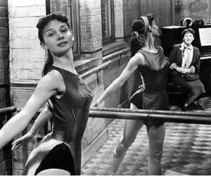 audrey hepburn, ballet, and vintage image