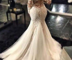 bride, dreams, and dresses image