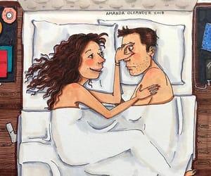 art, girlfriend, and lové image