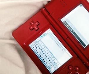 red, aesthetic, and nintendo image