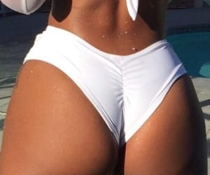 bikini, butt, and fitness image