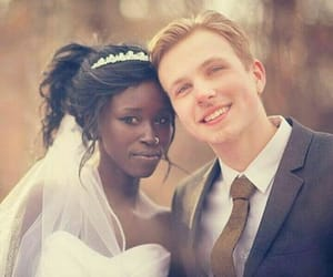 dating, interracial, and swirl image