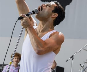 actor, band, and Freddie Mercury image