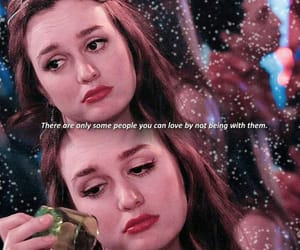 gossip girl, quote, and sad image
